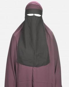 Niqab 1 voile marque El Khaligy