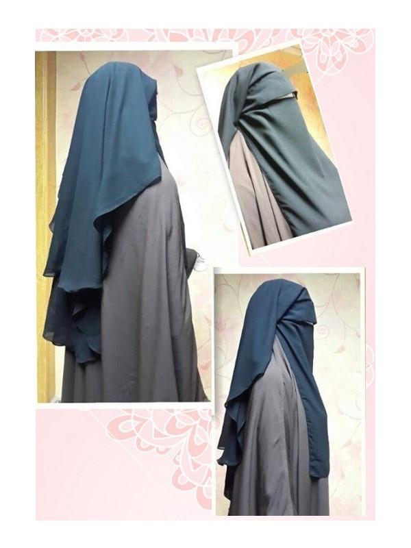 Flap Niqab Long