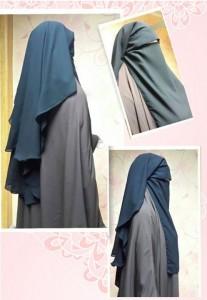 Niqab casquette long Al Khaligy