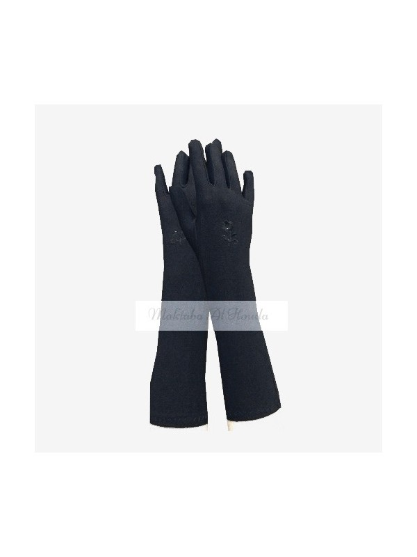 Long Gloves Black