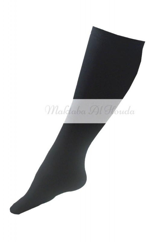 Opaque knee socks