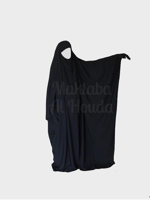 Jilbeb Saoudien Umm Maryam coloris Noir ROYAL (SR)