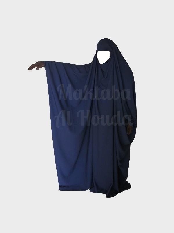 Jilbab Saoudien Umm Maryam Bleu marine ROYAL (SR)