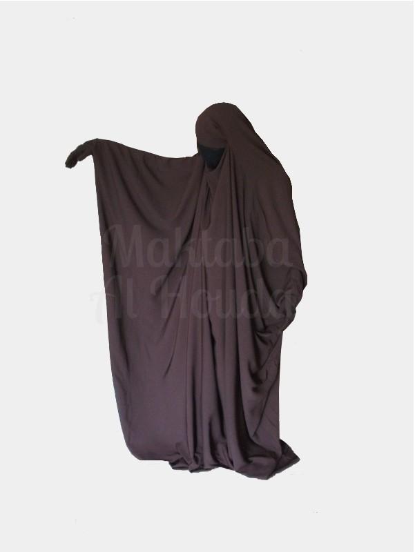 Jilbab Saudi Umm Maryam Brown ROYAL (SR)