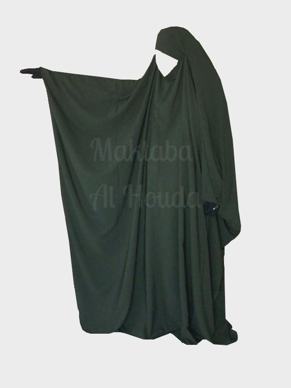 Jilbab Saudi Umm Maryam khaki ROYAL (SR)