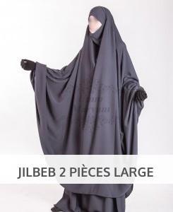 Jilbab deux pièces
